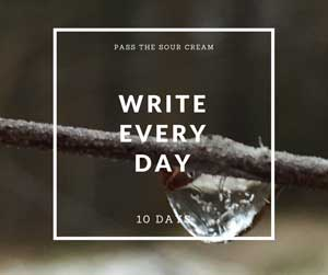 "10 Day to ""I Am A Writer"""